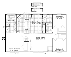 the arlington 48 ml30483a manufactured home floor plan or modular