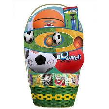 premade easter baskets prefilled easter basket sport basket toys r us