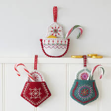 embroidered christmas nancy nicholson