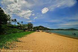 chaweng point u0026 beach koh samui far northern extension of