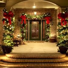 pillars in home decorating 46 beautiful christmas porch decorating ideas christmas porch