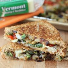 Roasted Vegetables Recipe by Roasted Veggie Grilled Cheese Living Well Kitchen