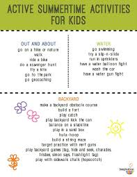 Backyard Kid Activities by Fun Active Summer Activities For Kids Imagination Soup