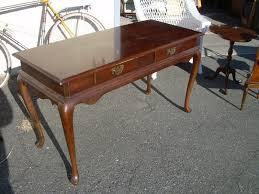 antique style writing desk antique queen anne style walnut writing desk sold for plans 18