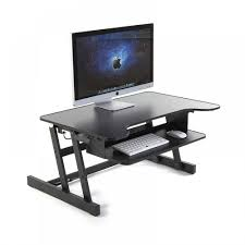Sit Stand Adjustable Desk by Ergoneer Upgrade Version Adjustable Sit To Stand Up Desk With Easy