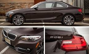 228i bmw 2015 bmw 228i xdrive coupe test review car and driver