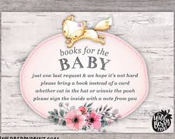 Books Instead Of Cards For Baby Shower Poem One Small Request
