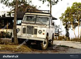 land rover vintage petchaboon thailand april 15 classic vintage stock photo 411374449