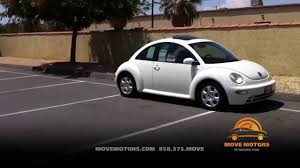 2003 volkswagen beetle review and test drive move motors youtube