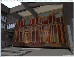 ancient roman villa floor plan new digital technologies bring ancient roman villa to life