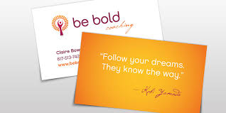 Business Cards With Quotes M22 Design Studio