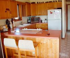 how to modernize a small kitchen small kitchen before and afters better homes gardens