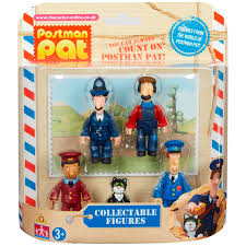 collectable figure pack postman pat wwsm