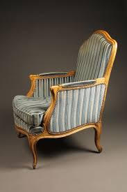 Louis 15th Chairs Pair Of French Louis Xv Style Bergére Chairs With Hand Carved