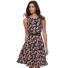 kohls dresses for weddings womens fit and flare wedding guest dresses clothing kohl s