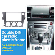 2005 subaru outback black 2din car radio fascia for 2005 2009 subaru legacy outback left