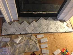 gray marble herringbone kitchen backsplash ellajanegoeppinger com