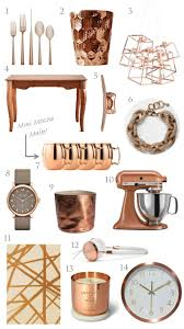 trending copper rose gold home decor for the home pinterest
