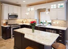 two tone kitchen cabinets brown how to use two toned kitchen cabinets in your remodeling