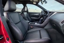 infiniti interior 2017 2018 infiniti q50 red sport 400 euro spec front interior view