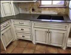Black Glazed Kitchen Cabinets Before And After Glazing Antiquing Cabinets A Complete How To