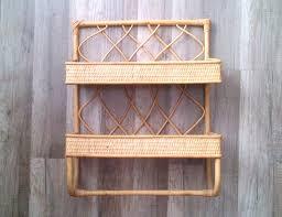 rattan wall shelves modern house design unique versatility
