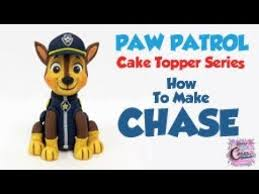 chase paw patrol cake topper chase cake topper