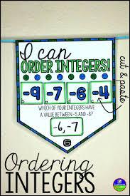 211 best teaching integers images on pinterest integers math
