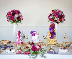 table picture display ideas wedding dessert table ideas hitched co uk