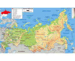 russia map map of northern europe and russia major tourist