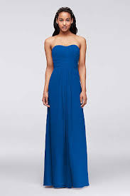 royal blue dress royal blue bridesmaid dresses david s bridal