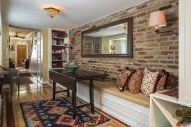 Fake Exposed Brick Wall What You Need To Know About Exposing Brick Baltimore Sun