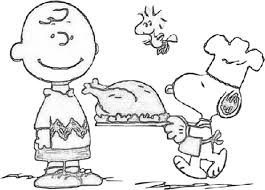 charlie brown thanksgiving printables free coloring pages art