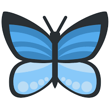 butterfly emoji meaning with pictures from a to z