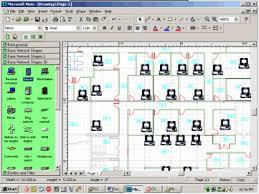 network floor plan layout get it done microsoft visio 2000 enterprise techrepublic