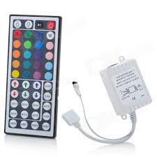 rgb led light controller 12v 44 keys ir remote controller for rgb led strip lights white