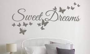 dreams come true wall decal wall decal wall art decal sweet dreams wall art decal sticker