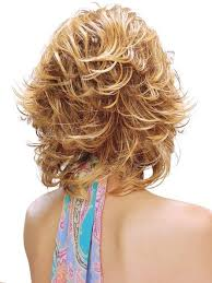 hair with shag back view angela by estetica wigs com the wig experts