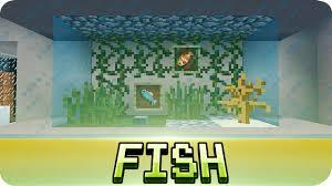 minecraft aquarium fish tank tutorial decoration ideas youtube