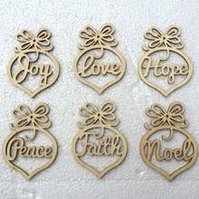 popular small wooden christmas ornaments buy cheap small wooden
