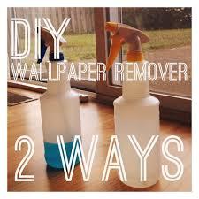 diy wallpaper remover 2 ways u2014 rental revival