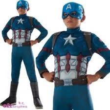 Captain America Halloween Costume Kids Captain America Civil War Black Panther Deluxe Kids Costume