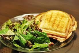 cuisiner la salade verte croque monsieur et salade verte mon assiette gourmande