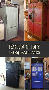 how to make your fridge look like a cabinet 12 cool diy fridge makeovers rounding easy and kitchens