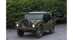 future military jeep 1957 porsche military vehicle has never seen the battlefield goes