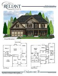 oakmont b fe reliant homes new homes in atlanta