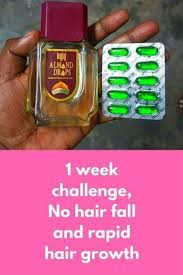 Challenge Open Or Closed 1 Week Challenge No Hair Fall And Rapid Hair Growth Today I Am