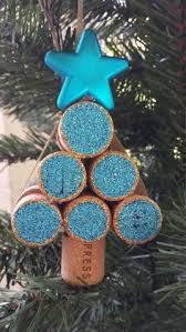 wine cork snowflake ornaments wine crafts
