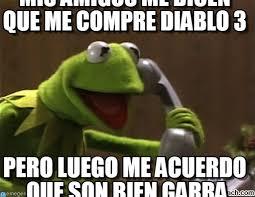 Diablo Meme - mis amigos me dicen que me compre diablo 3 on memegen