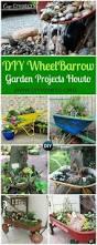 Herb Garden Planter Ideas by Best 25 Wheelbarrow Planter Ideas On Pinterest Wheelbarrow